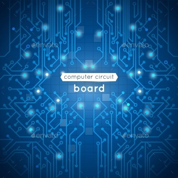 GraphicRiver Computer Circuit Board 10335060