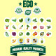 Vegetable Icon Set  - GraphicRiver Item for Sale