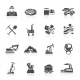 Mining Icons Black - GraphicRiver Item for Sale