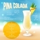 Cocktail Recipe Poster - GraphicRiver Item for Sale
