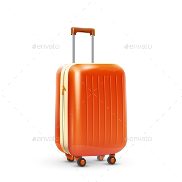 GraphicRiver Travel Suitcase Realistic 10335922