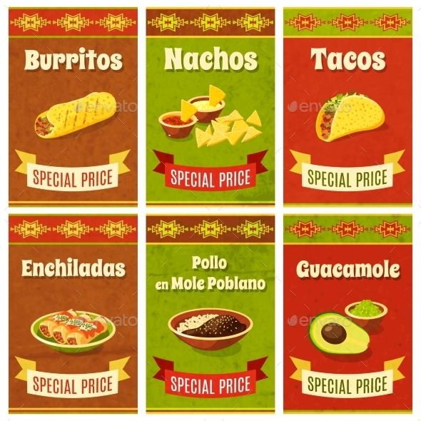 GraphicRiver Mexican Food Poster 10335950