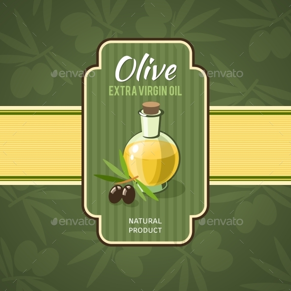GraphicRiver Olive Oil Badge 10335953