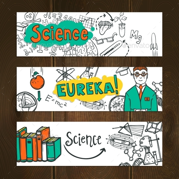 GraphicRiver Science Banner Set 10336060