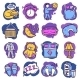 Sleep Time Icons - GraphicRiver Item for Sale