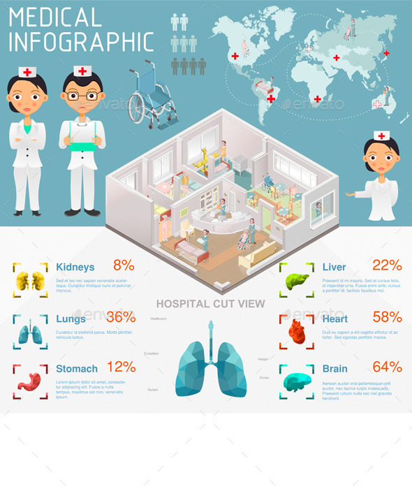 GraphicRiver Medical Infographic 10280577