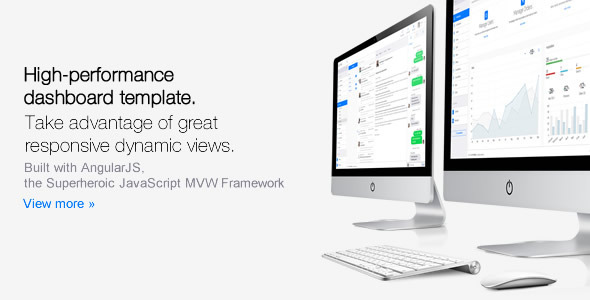 ThemeForest Clip-Two Bootstrap Admin Template with AngularJS 10290688