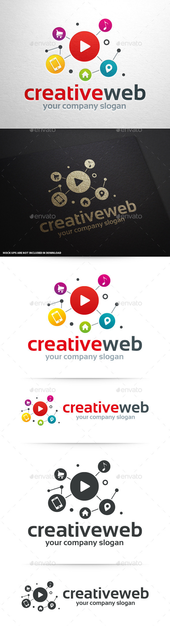 GraphicRiver Creative Web Logo Template 10336327