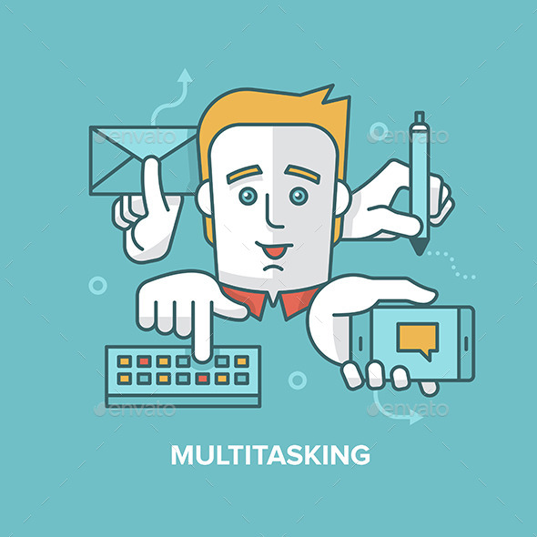 GraphicRiver Multitasking 10336345