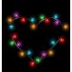 Multicolored Glassy Lights Like Heart Frame - GraphicRiver Item for Sale