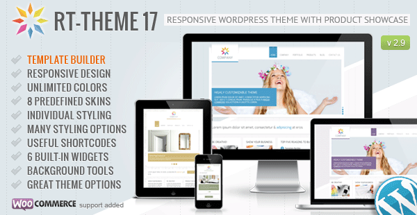 ThemeForest - RT-Theme 17 v2.9.7 - Responsive Wordpress Theme - 2703099 - Free Download
