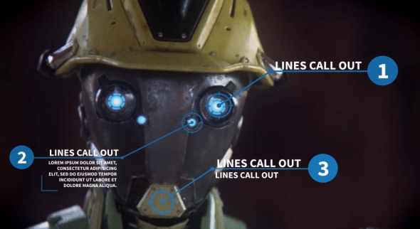 Argon – 30 Line Call Outs (Infographics)