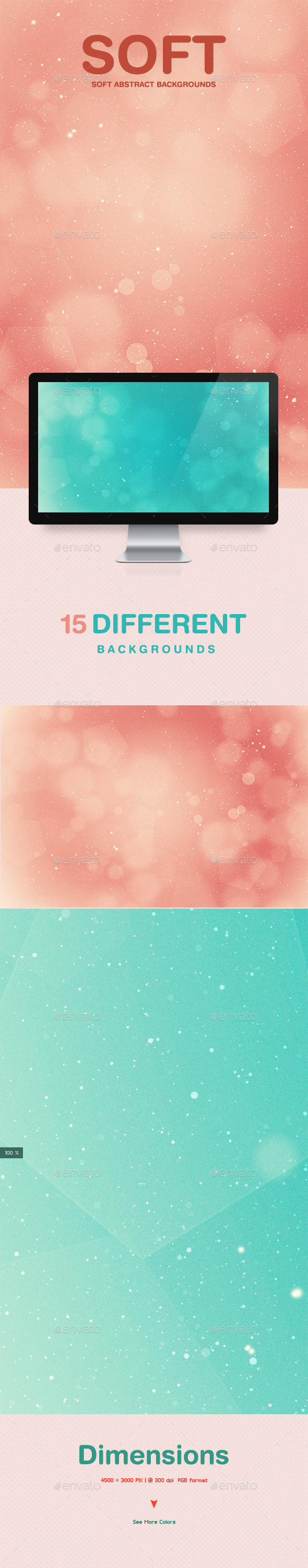 Soft Light Abstract Backgrounds