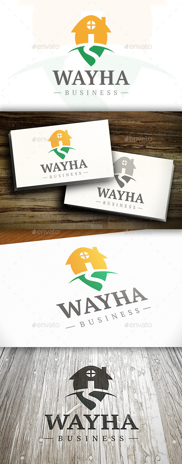 GraphicRiver Way Home Logo 10337001