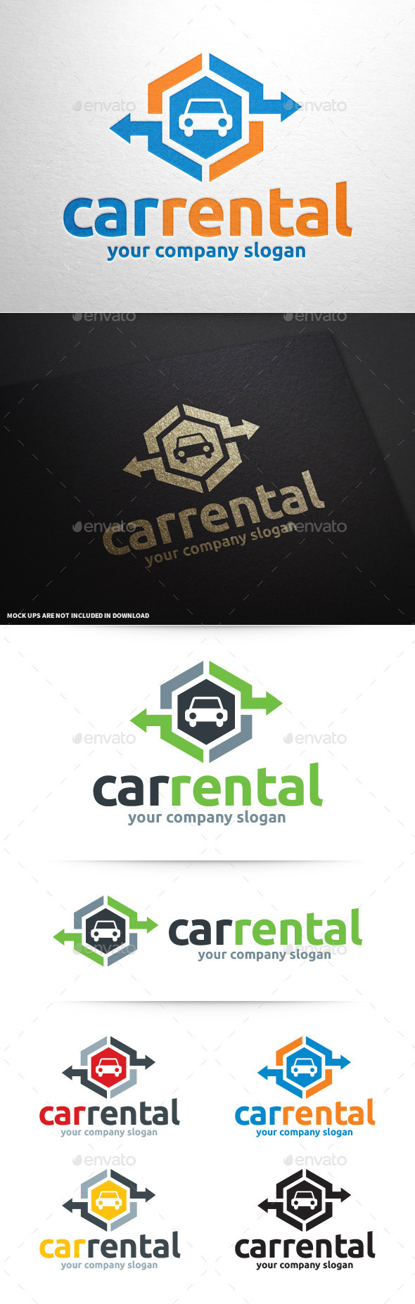 GraphicRiver Car Rental Logo Template 10337056
