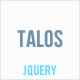 Talos - Animated Horizontal Submenu jQuery Plugin