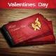 Creative Valentines Day Gift Voucher - GraphicRiver Item for Sale