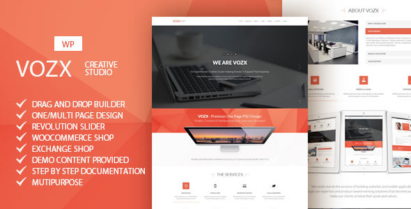 ThemeForest Vozx Multipurpose WordPress Theme 10112808