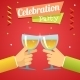 Celebration Success Prosperity Invitation Announce - GraphicRiver Item for Sale