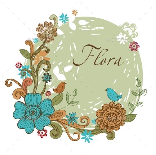GraphicRiver Floral Banner 10338104