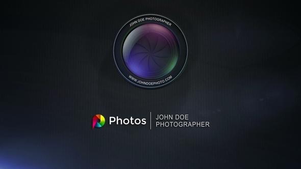 Lens Aperture Logo