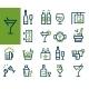 Drink Alcohol Beverage Icons Set - GraphicRiver Item for Sale
