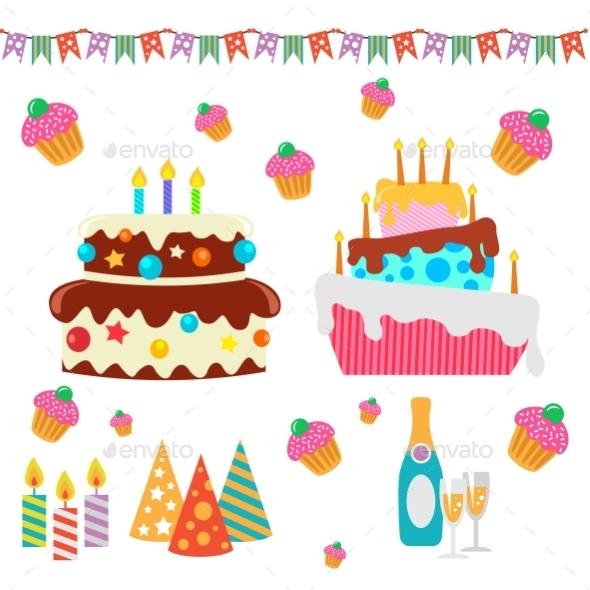 GraphicRiver Happy Birthday Set 10338208
