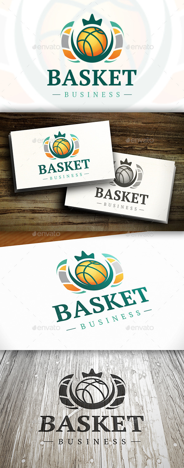 GraphicRiver Basket Logo 10338359