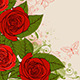 Red Roses and Butterflies - GraphicRiver Item for Sale