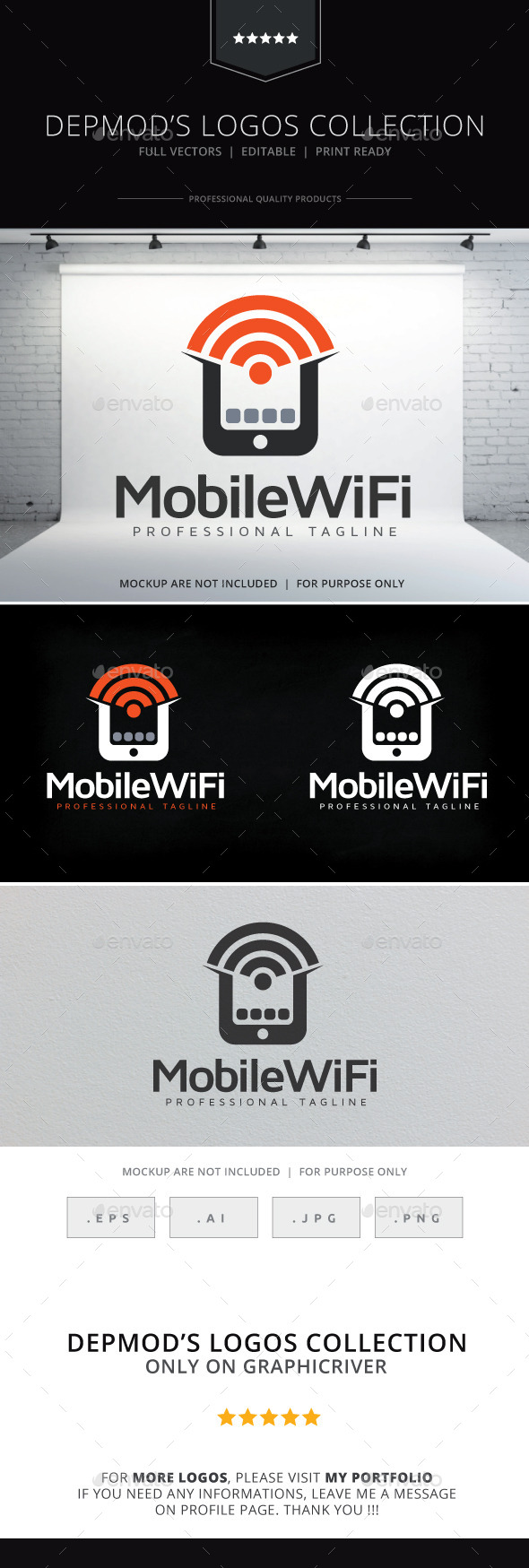 GraphicRiver Mobile WiFi Logo 10338821