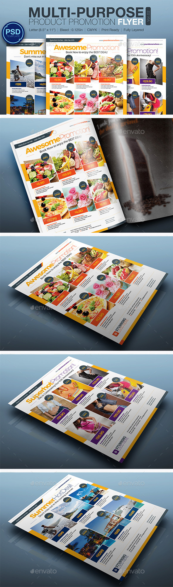 GraphicRiver Product Promotion Flyer Vol.02 10301977