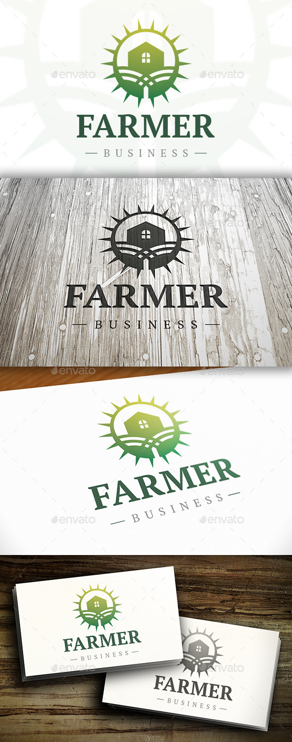 GraphicRiver Farm Logo 10338935