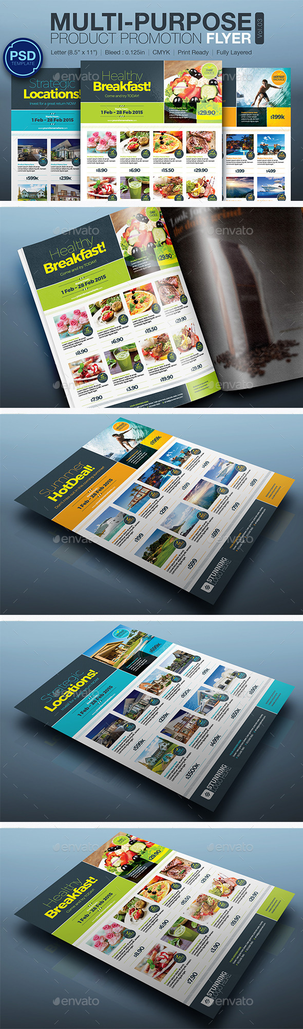 GraphicRiver Product Promotion Flyer Vol.03 10302070