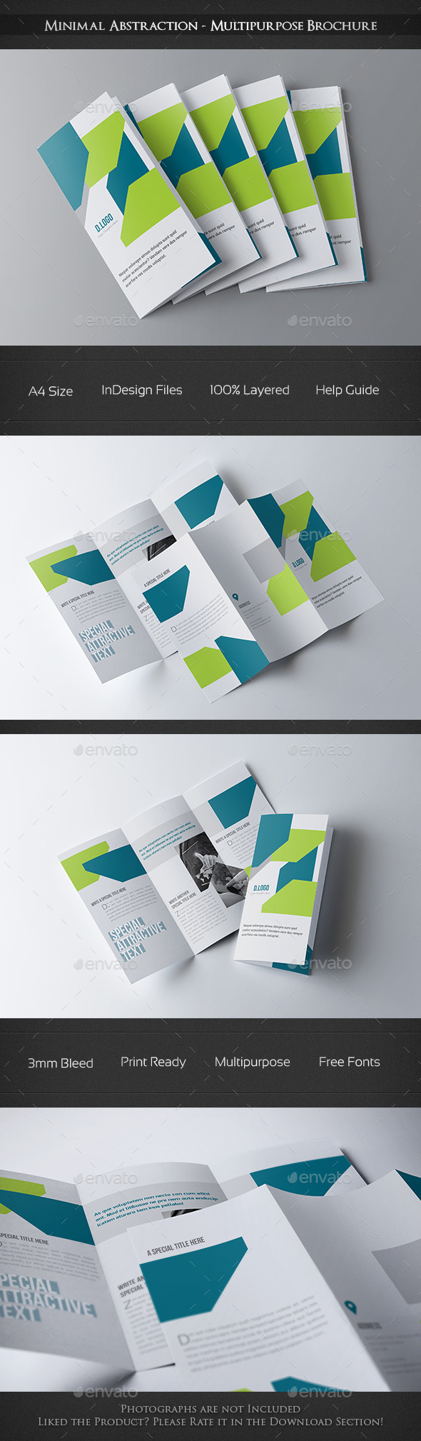 GraphicRiver Minimal Abstraction Multipurpose Brochure 10339316