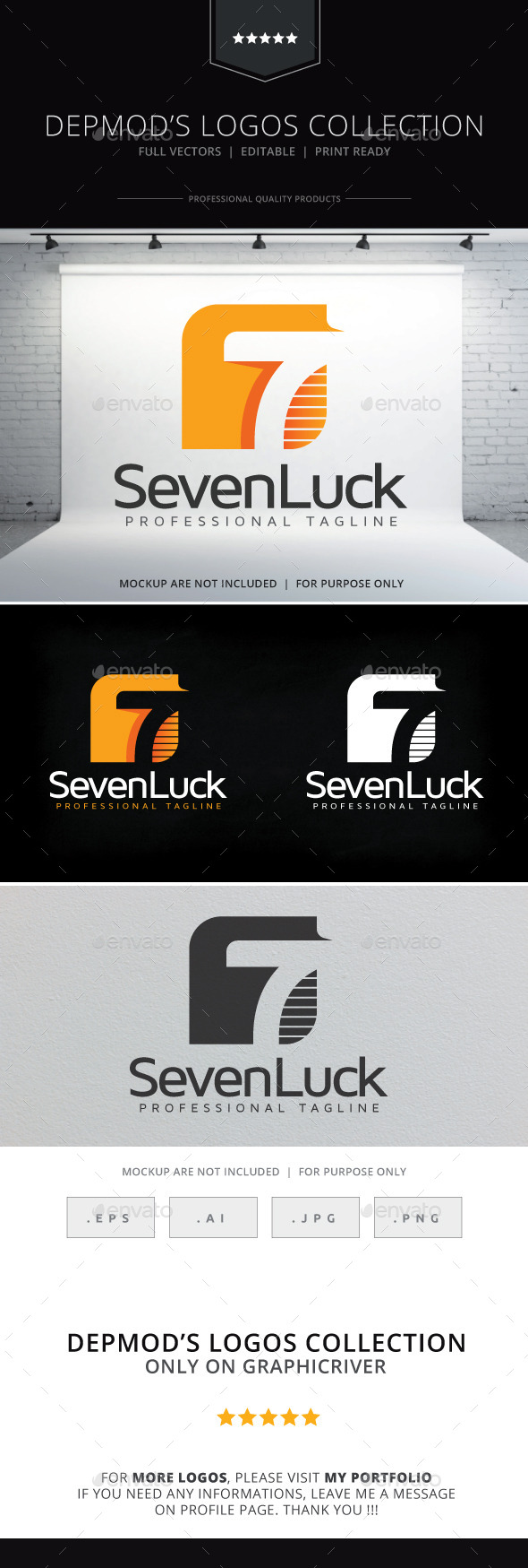 GraphicRiver Seven Luck Logo 10339321