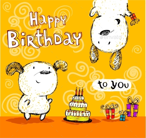 GraphicRiver Birthday Card to Friends 10339327