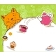Greeting Card with Red Cat and Place for Text - GraphicRiver Item for Sale
