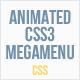 Animated CSS3 Mega Menu