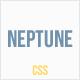 Neptune - Horizontal Submenu