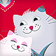 Funny love greeting card with pets - GraphicRiver Item for Sale
