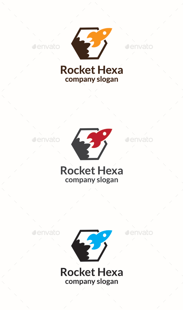 GraphicRiver Rocket Hexa 10340686