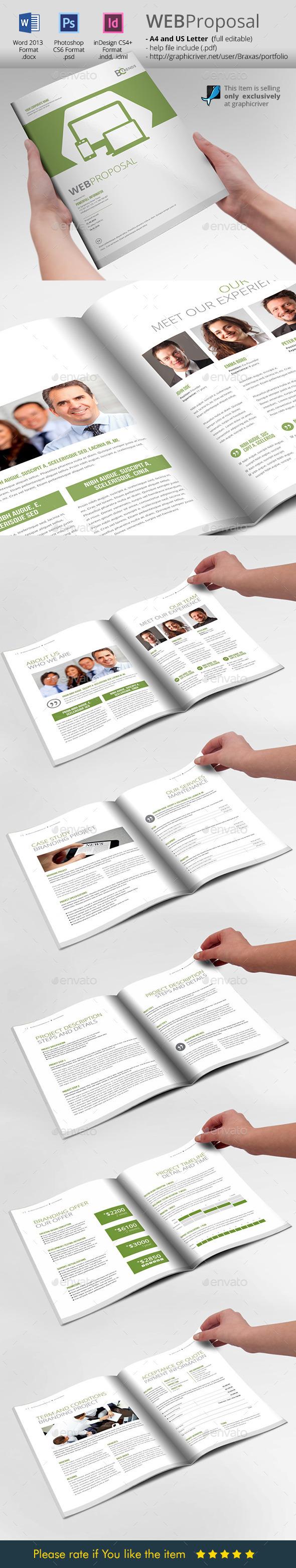 GraphicRiver WEB Proposal Brochure Template 10341288