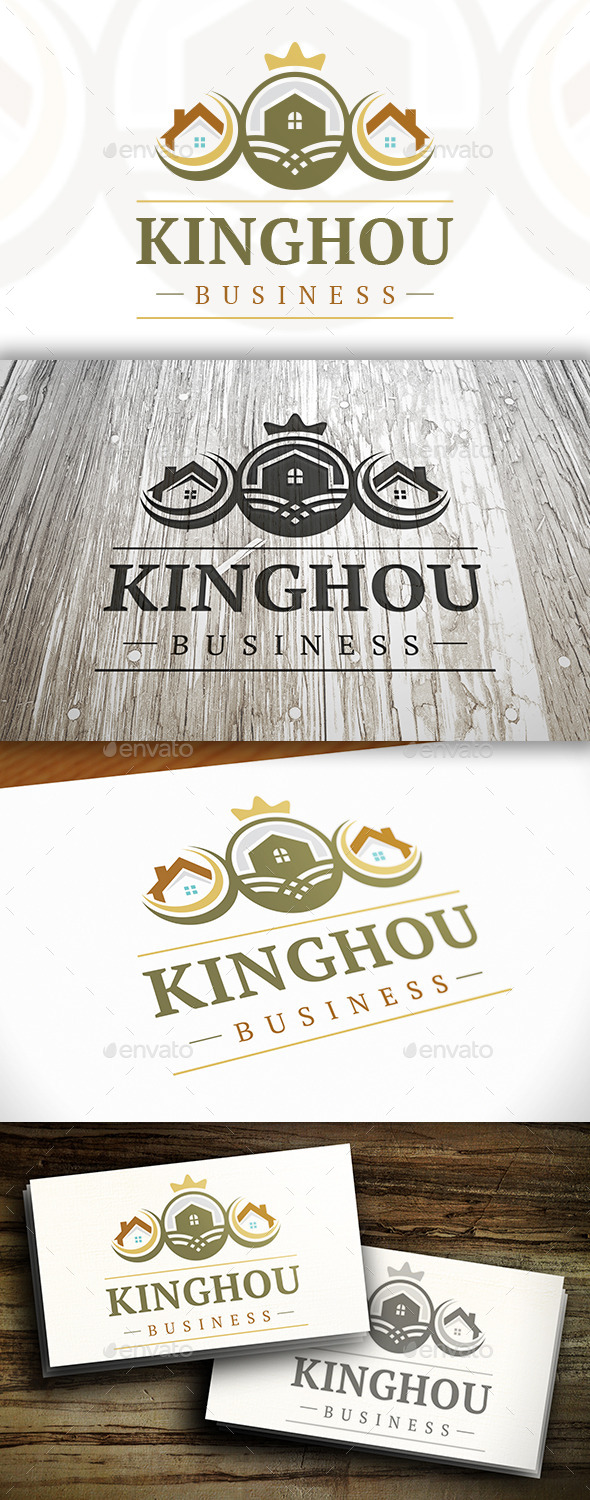 GraphicRiver House King Logo 10341305