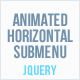 Animated Horizontal Submenu