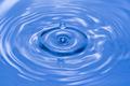 Close up water drop