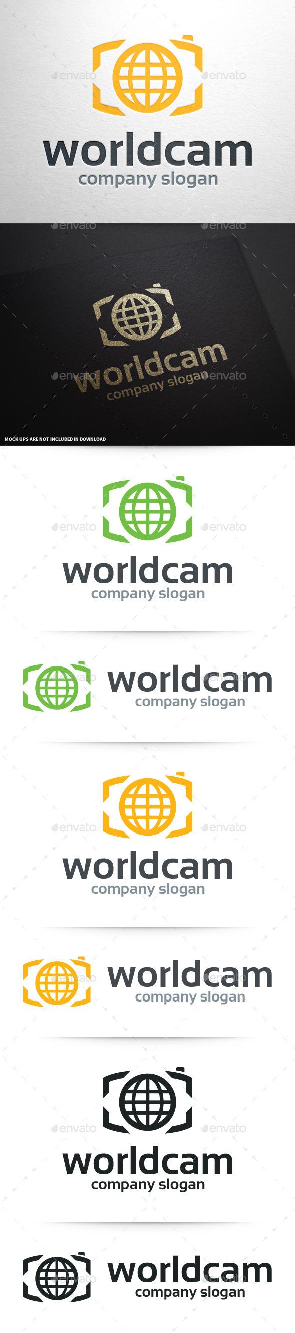 GraphicRiver World Camera Logo Template 10341579