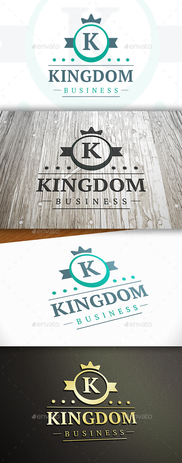 GraphicRiver Kingdom Logo 10341589