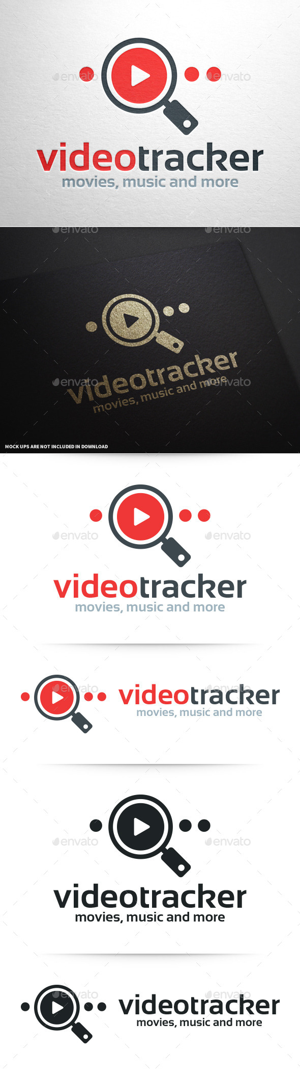 GraphicRiver Video Tracker Logo Template 10341602