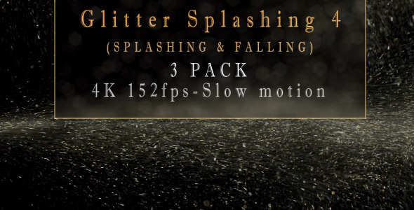 Glitter Splashing 4 3 Pack