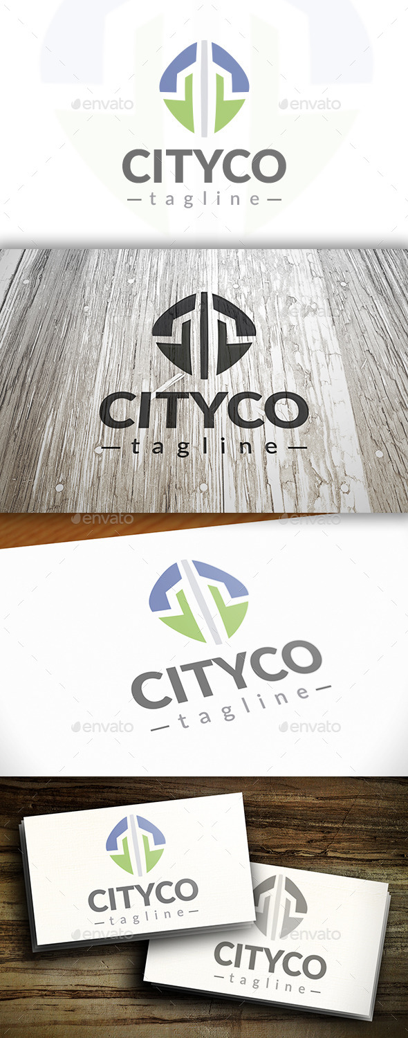 GraphicRiver City Core Logo 10341751